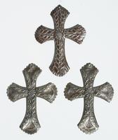 Set 3 metal crosses