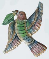 Colibri metal art