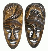 Wooden masks