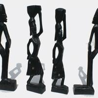Black statues
