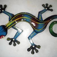 Lizard wall decor