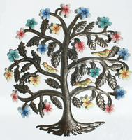 Tree of life with flowers