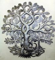 Metal tree of life, birds decor