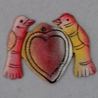 Two birds with heart