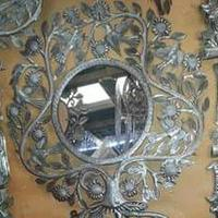 Mirror ornament