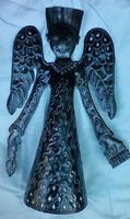 Metal Angel Sculpture
