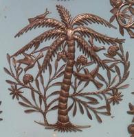Metal palm