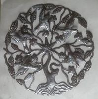 Haiti metal tree of life