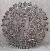 Metal artwork for wall