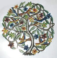 Tree of life: Metal wall decor