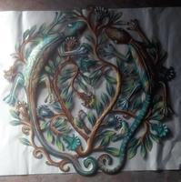 Tree of life with lizards