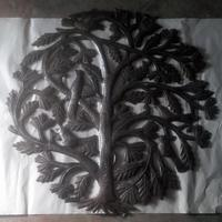 Recycled metal art - Tree of life