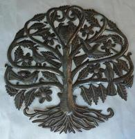 Tree of life with birds, Haitian art