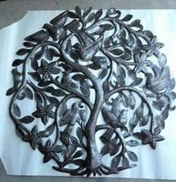 Metal tree of life: Contemporary wall art
