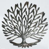 Haitian metal tree of life