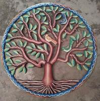 Tree of life with birds